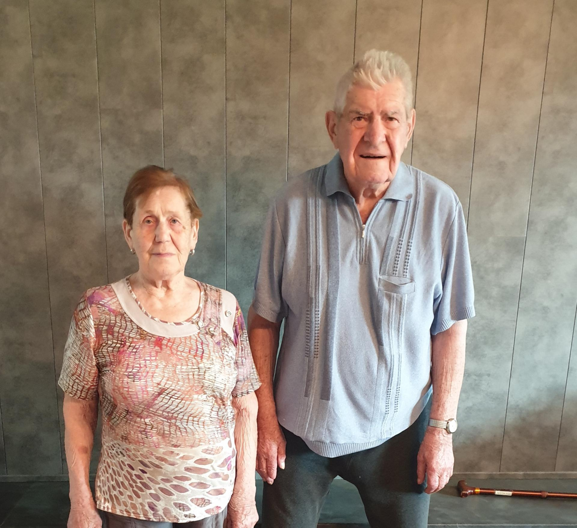 1 juillet: noces de diamant de M. et Mme Rocklin