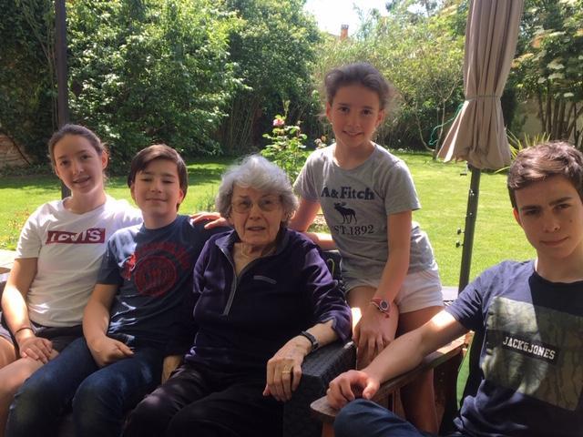 16 avril: Mme Eugénie Wira, 90 ans