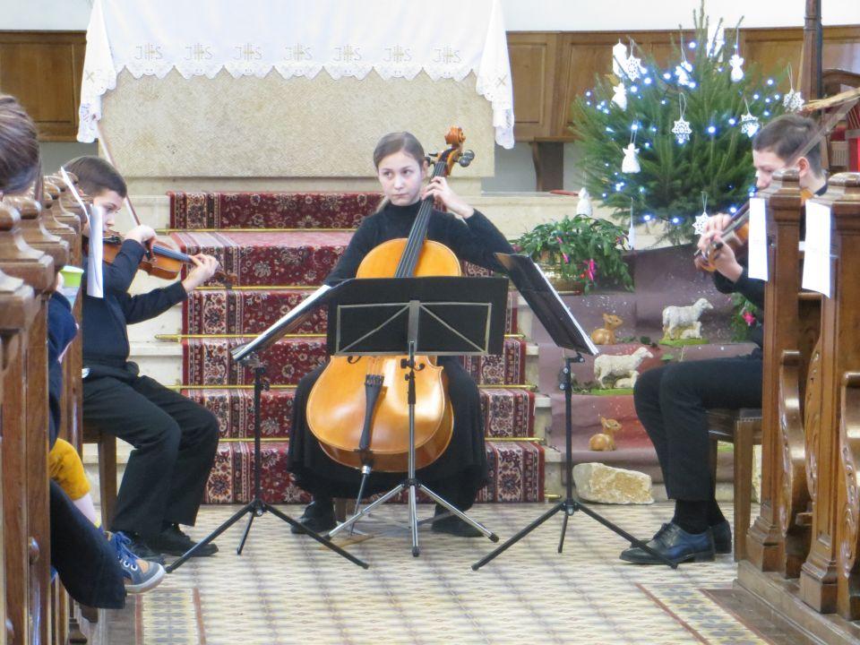 Le concert de Noël du trio Fasolut