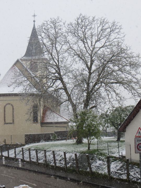 4 mai: le retour de la neige