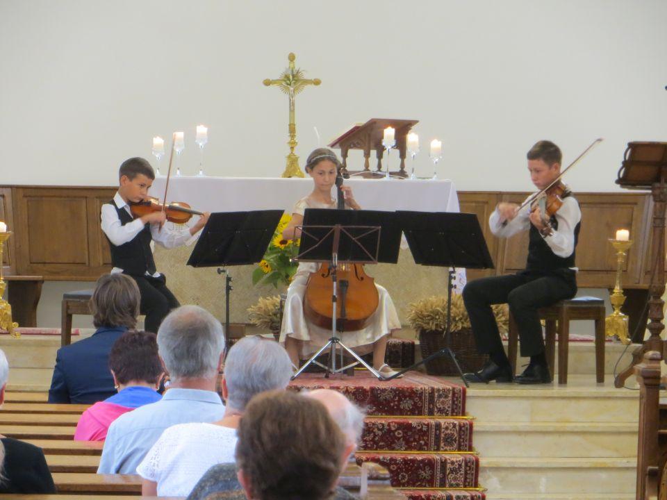 """Le trio """"Fasolut"""" donne le concert de l'Assomption"""