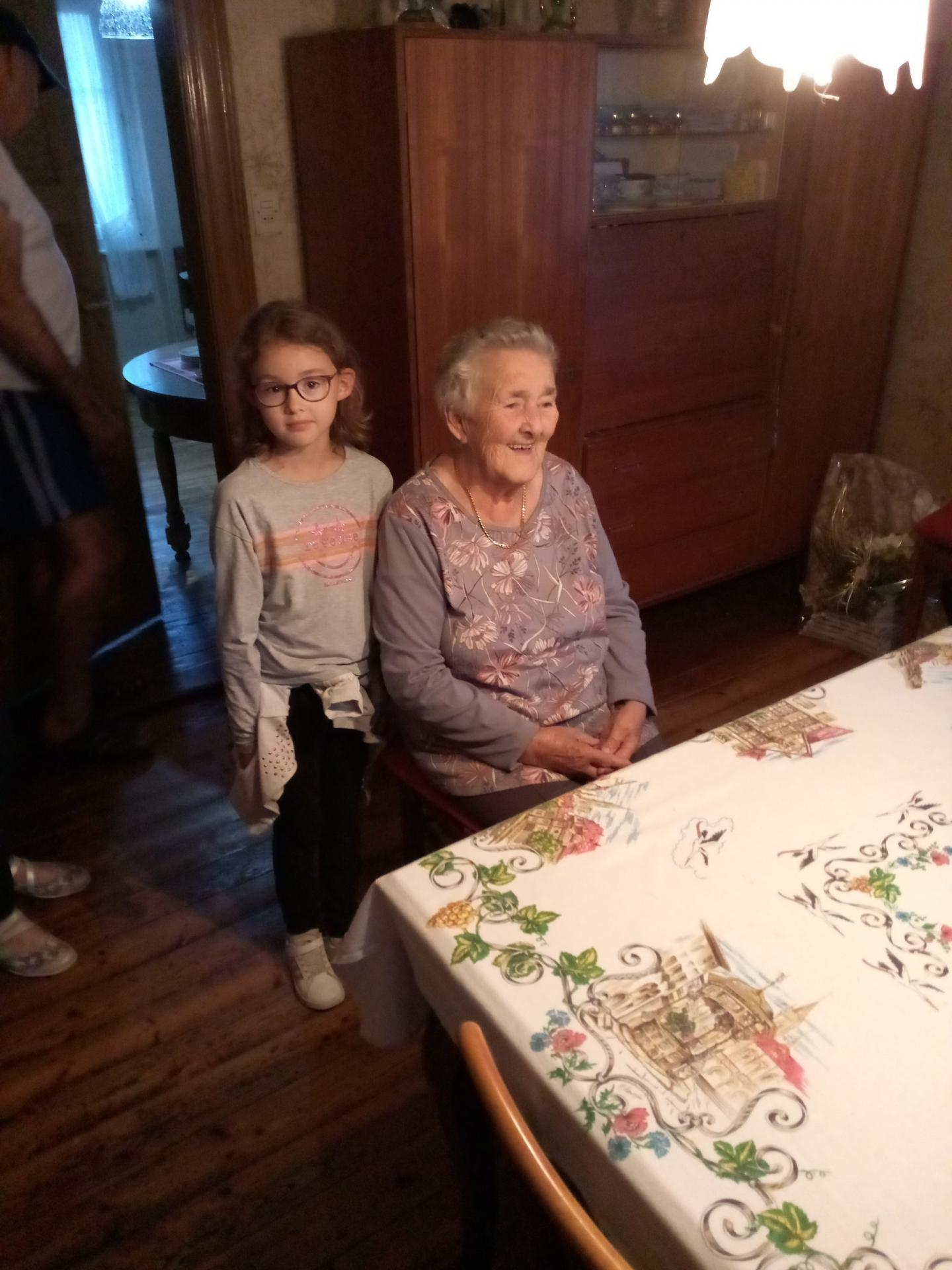 1/10 Mme Marie-Louise Gigos, 90 ans