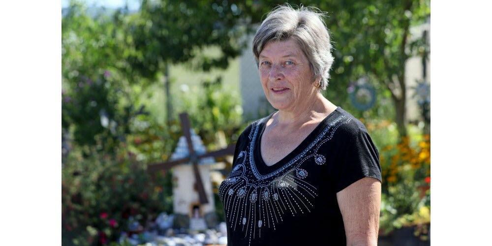 Josiane flota a bisel dans son jardin potager laureat du concours national des jardins potagers 2019 photo l alsace thierry gachon 1600618111
