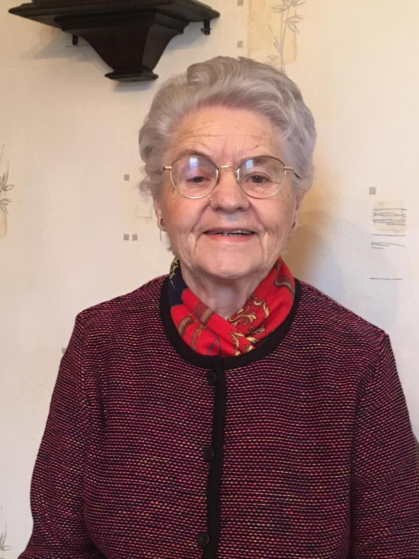 17 février:85 ans Mme Marguerite Macker