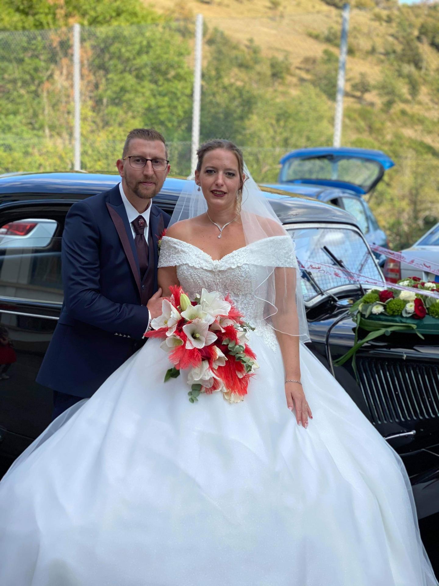 19 septembre à Traubach le Haut: Mme Sabrina Blaison et M. David Wioland