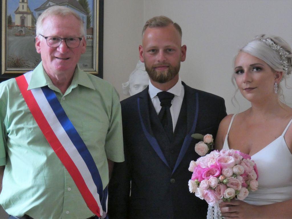 19 juin: mariage de Mlle Océane Gigos et M. Mike Guionnet