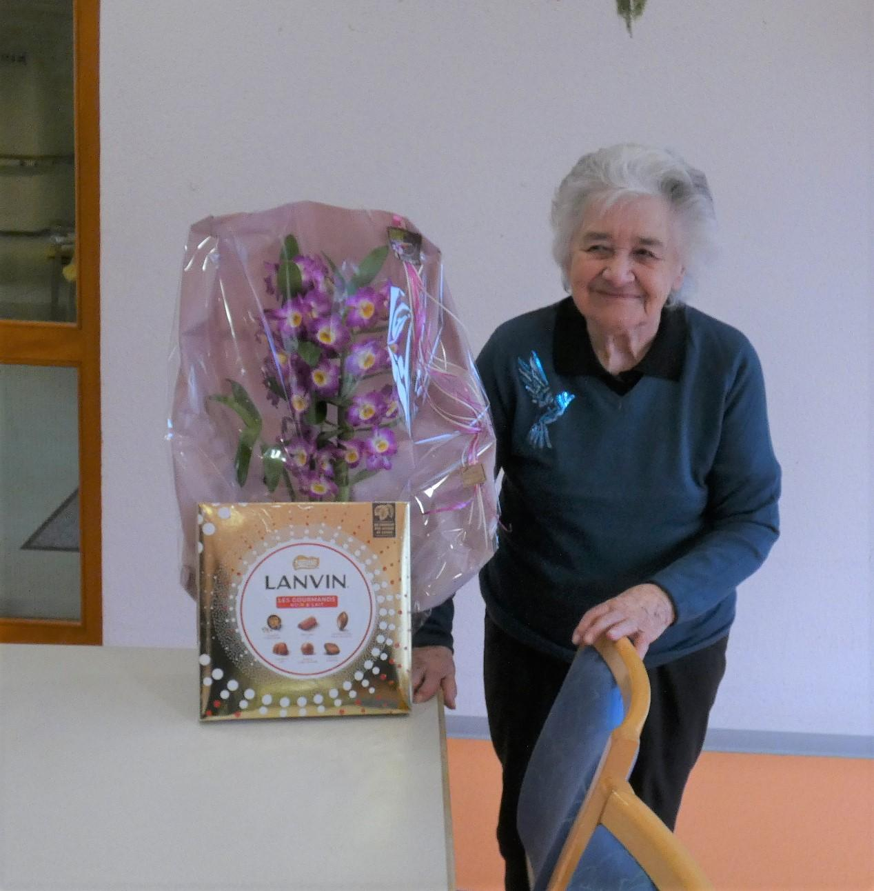 Mme Stehlin Marie Louise, 85 ans