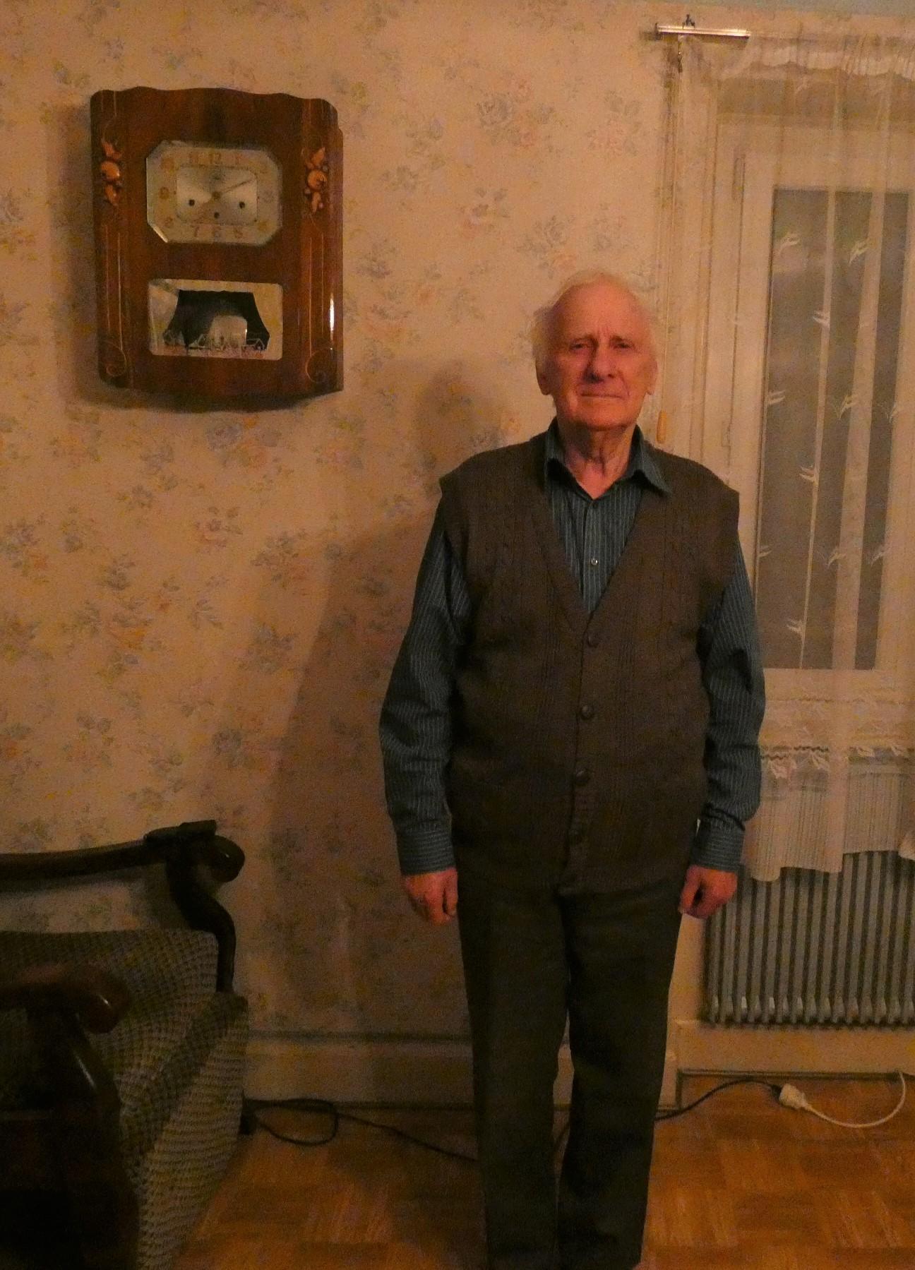 M Gérard Peter, 80 ans