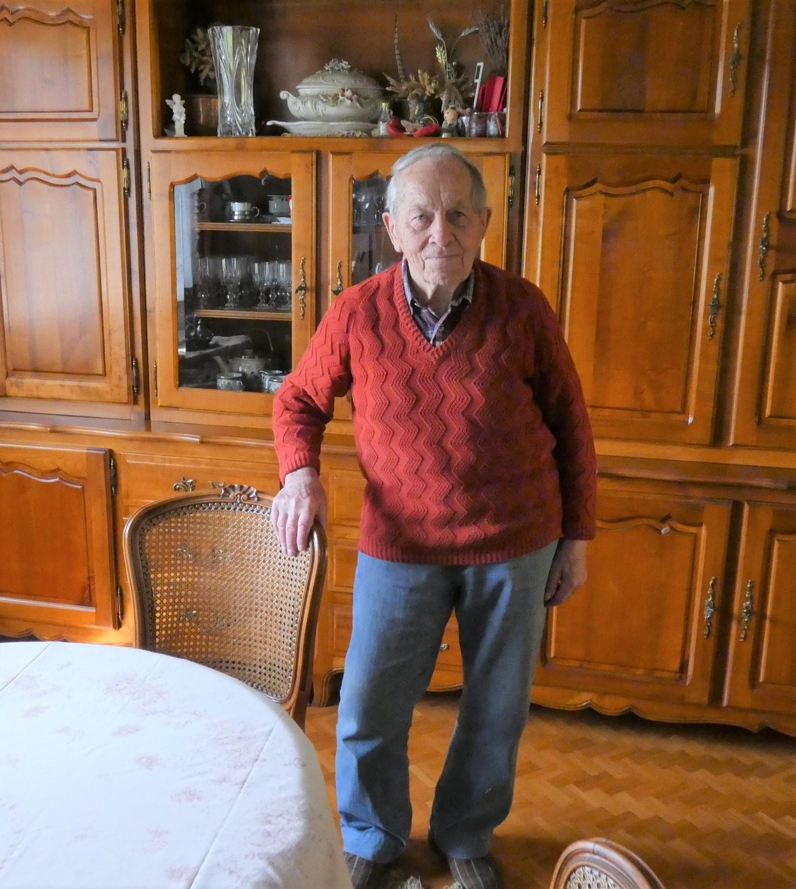 25 mars: Raymond Wira, 90 ans  (en savoir plus, cliquez)