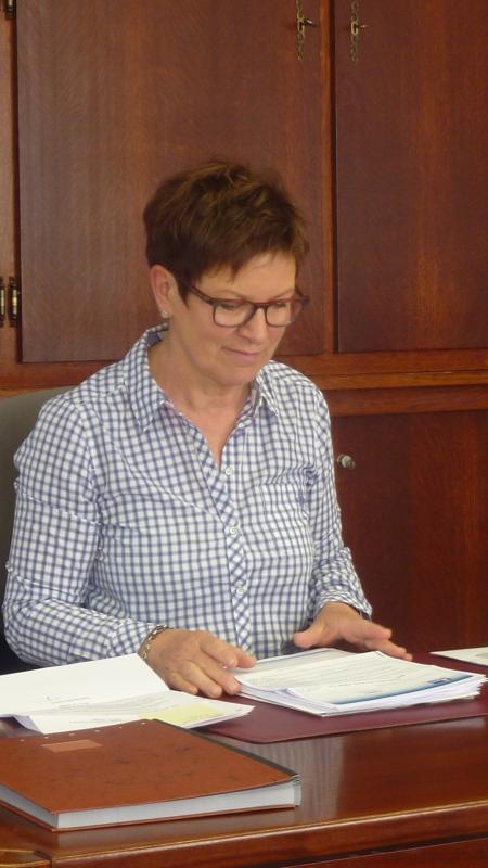 Martine Walter, secrétaire