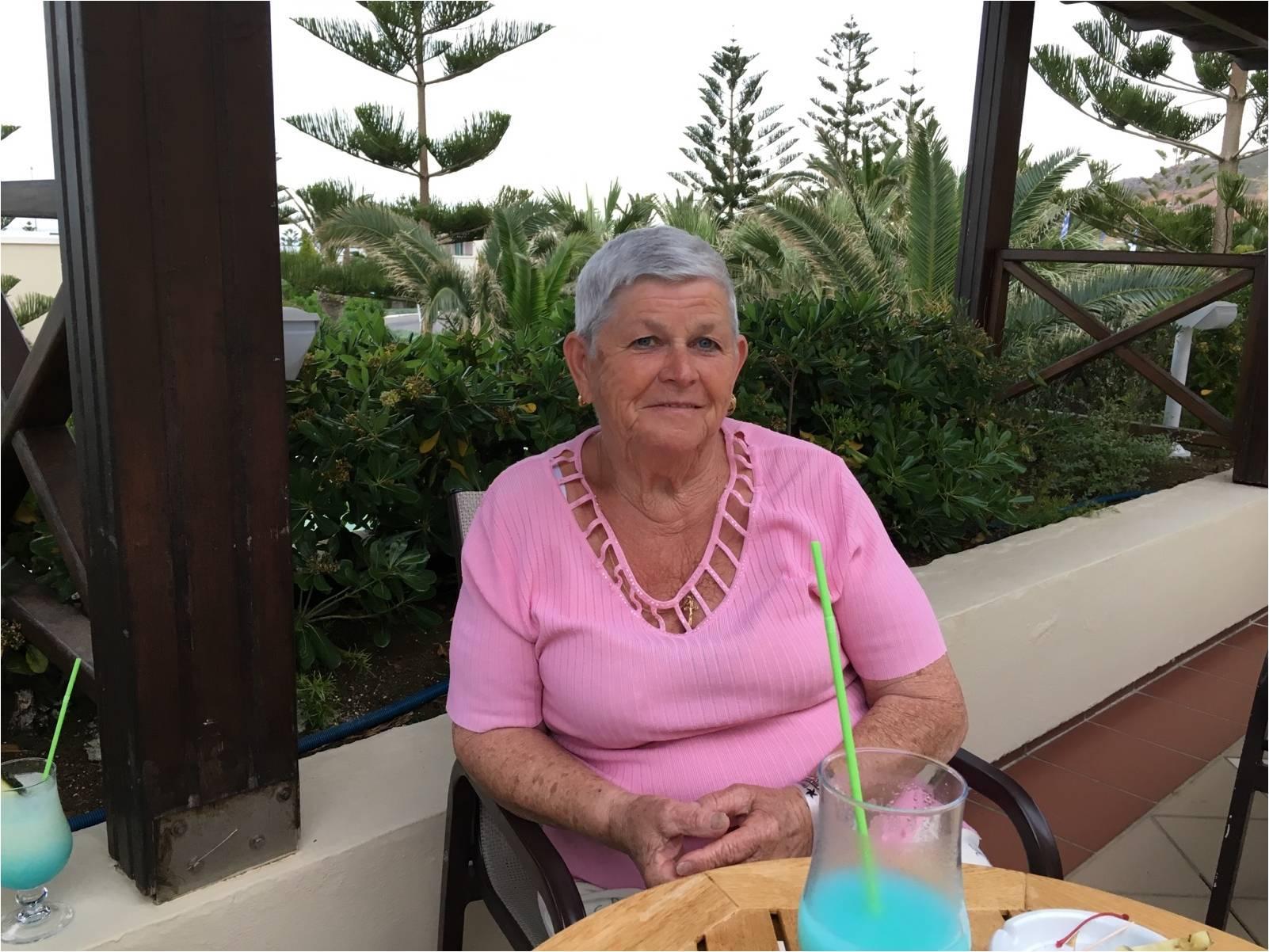 Mme Simone Uerberschlag 80 ans le 6 mai